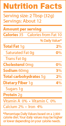 Roasted Chipotle Nutrition Facts